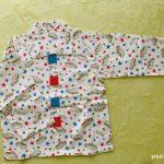 西松屋ボタンパジャマ